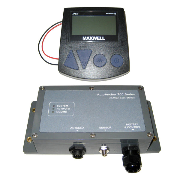 Maxwell AA570 Panel Mount Wireless Windlass Controller & Rode Counter