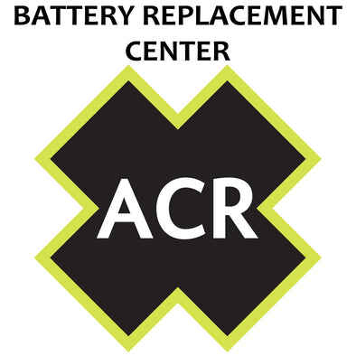 ACR FBRS 2880 & 2881 Battery Replacement Service - PLB-375 ResQLink™/ResQLink+™