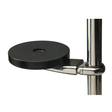 "Edson Stainless GPS Mount 5"" Mounting Base 1-1.25"" Rail"
