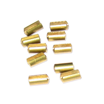 Scotty Release Clip Locators Slotted Brass - 10 Pack