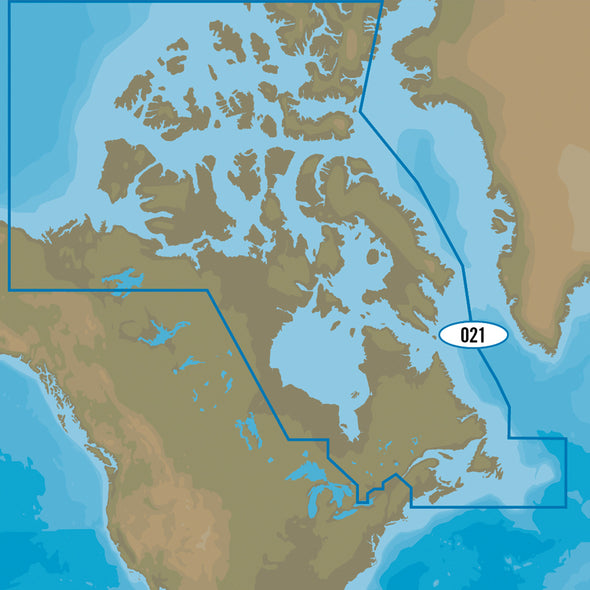 C-MAP MAX-N+ NA-Y021 - Canada, North & East