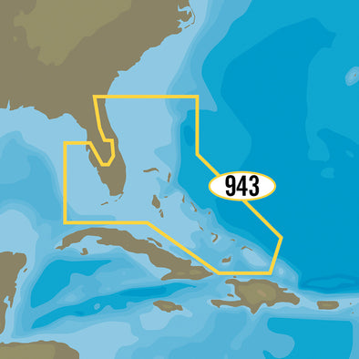 C-MAP MAX-N+ NA-Y943 - Florida & The Bahamas
