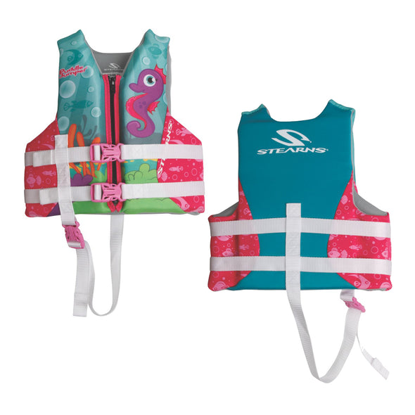 Puddle Jumper Child Hydroprene™ Life Vest - Seahorse - 30-50lbs