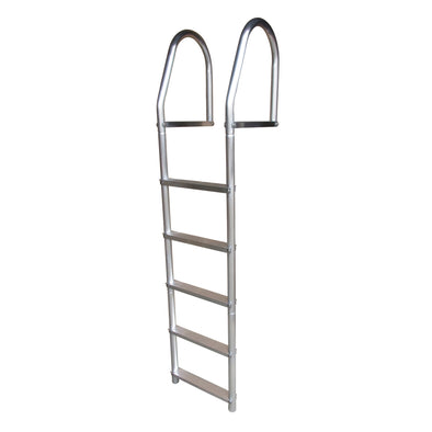 Dock Edge Fixed Eco - Weld Free Aluminum 5-Step Dock Ladder