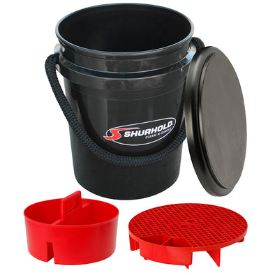 Shurhold One Bucket Kit - 5 Gallon - Black