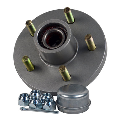"C.E. Smith Trailer Hub Kit - 1-3/8"" x 1-1/16"" Tapered - 5 x 4-1/2"" Galvanized"