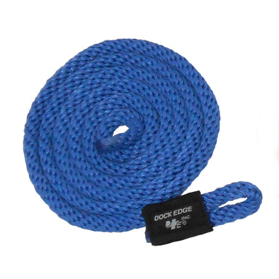 "Dock Edge Fender Line - 3/8"" x 5' - Royal Blue - 2-Pack"