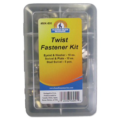 Handi-Man Twist Fastner Kit