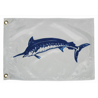 "Taylor Made 12"" x 18""  Blue Marlin Flag"