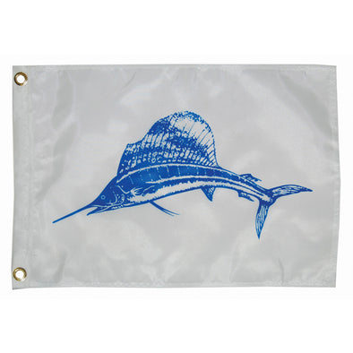 "Taylor Made 12"" x 18"" Sailfish Flag"