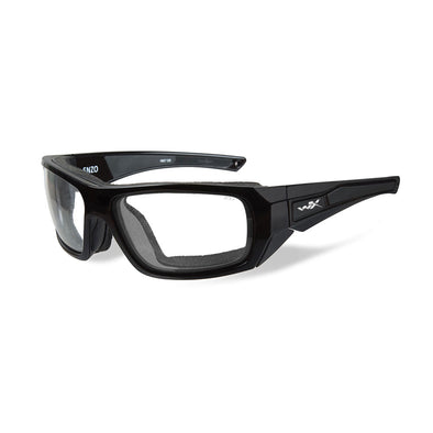 Wiley X Enzo Sunglasses - Clear Lens - Gloss Black Frame