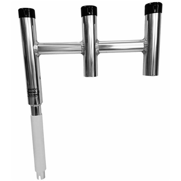 Wahoo Offset Triple Rod Holder