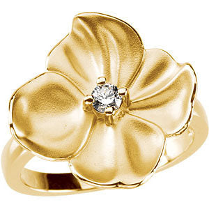 Tropical Flower Ring