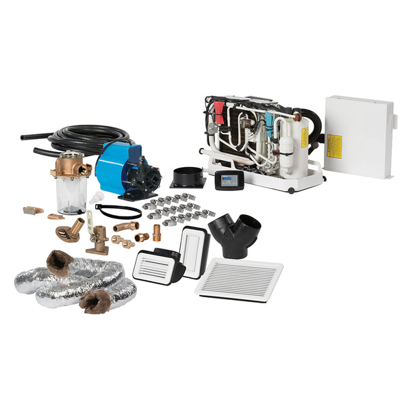 Webasto FCF Platinum Series Air Conditioner Complete System Kit w/KoolAir PM500 Pump & Ducting - 10,000 BTU/h - 115V
