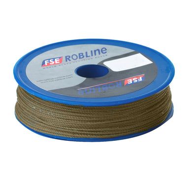 Robline Waxed Tackle Yarn Whipping Twine - Gold - 0.8mm x 80M