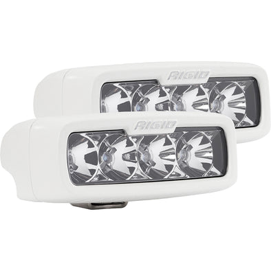 RIGID Industries SR-Q Series PRO Hybrid-Flood LED - Surface Mount - Pair - White