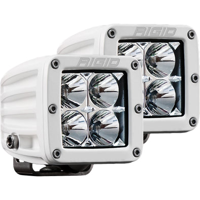 RIGID Industries D-Series PRO Hybrid-Flood LED - Pair - White