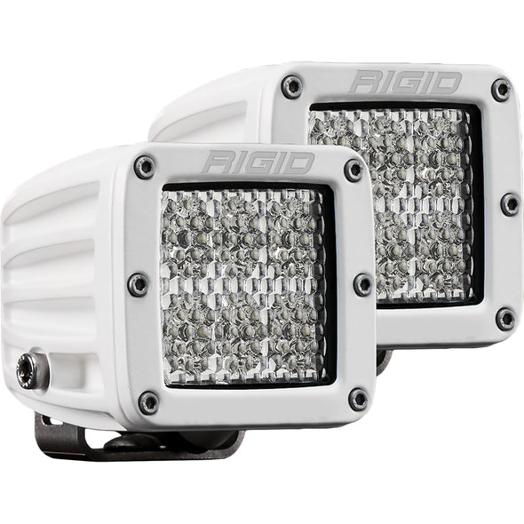 RIGID Industries D-Series PRO Specter-Diffused LED - Surface Mount - Pair - White
