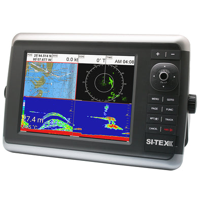 "SI-TEX NavStar 12"" Hybrid Touchscreen MFD 12"" w/Internal GPS Antenna"