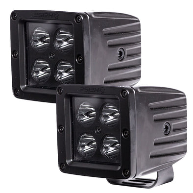 "HEISE Blackout 4 LED Cube Light - 3"" - 2 Pack"