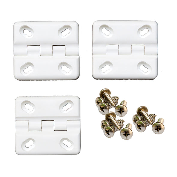 Cooler Shield Replacement Hinge f/Coleman® & Rubbermaid® Coolers - 3-Pack