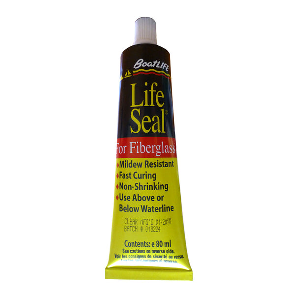 BoatLIFE LifeSeal® Sealant Tube 2.8 FL. Oz - Clear