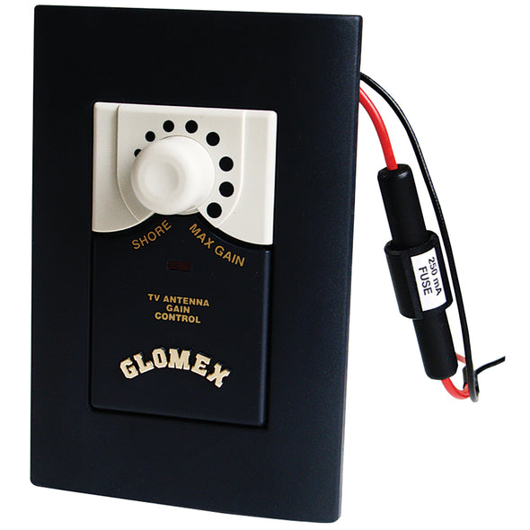 Glomex A/B Amplifier f/TV Antennas w/By-Pass Control