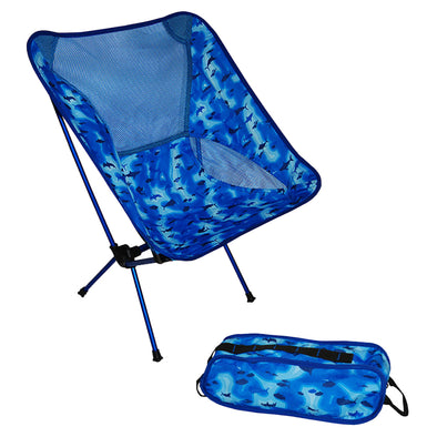Taylor Made Stow 'n Go Chair - Blue Sonar