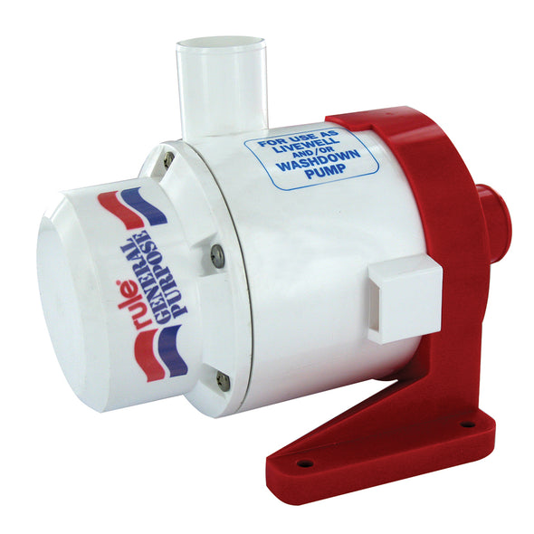 Rule 3700 GPH General Purpose End Suction Centrifugal Pump - 24V
