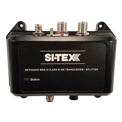 SI-TEX MDA-5 Hi-Power 5W SOTDMA Class B AIS Transceiver w/Built-In Antenna Splitter & Long Range Wi-Fi
