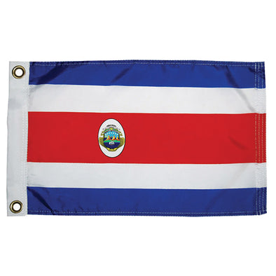 "Taylor Made Costa Rican Nylon Flag 12"" x 18"""