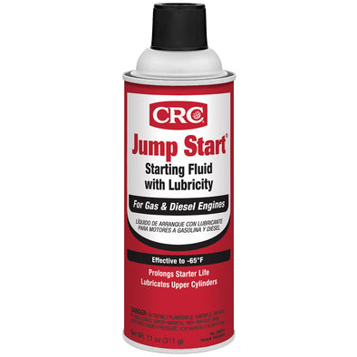 CRC Jump Start® Starting Fluid w/Lubricity - 11oz - #05671 *Case of 12