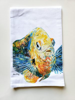 Damselfish Tea Towel