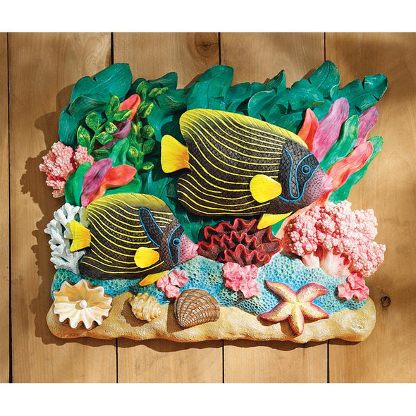 Emperor Angelfish Plaque