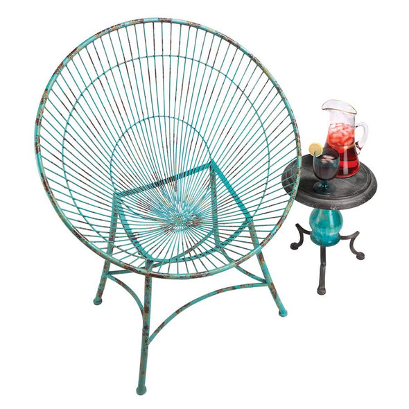 Saint Tropez Metal Hoop Garden Chair