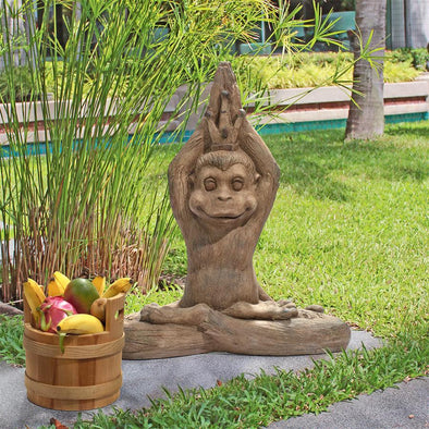 Monkey Mantra Zen Animal Statue