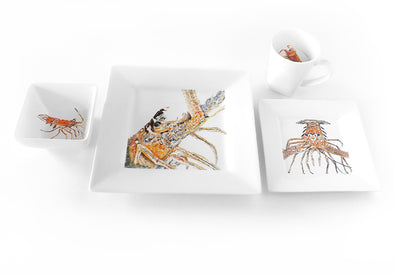 Desperado Lobster 4-Piece Place Setting