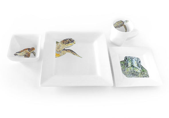 Old Soul Sea Turtle 4-Piece Place Setting