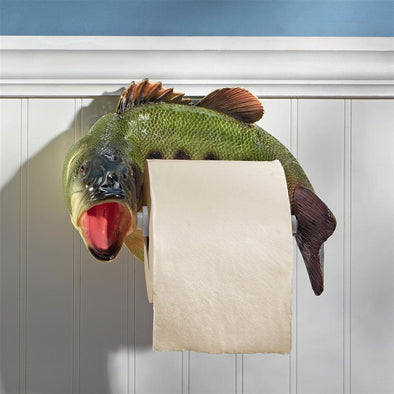 Reeling Trout Toilet Paper Holder