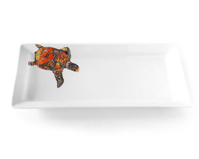 Freestyle Sea Turtle Rectangular platter