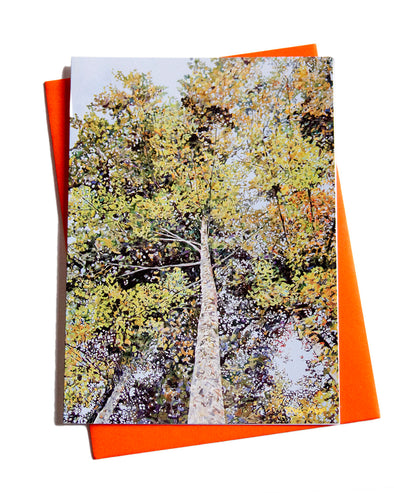 Look Up Note Card