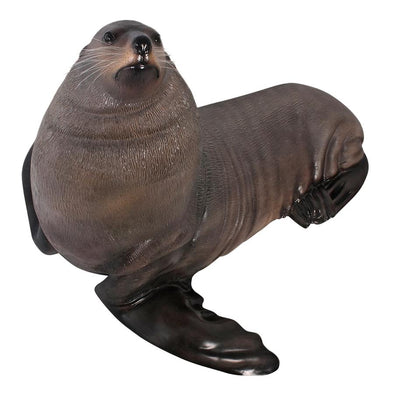 Male Bull Fur Seal Statue
