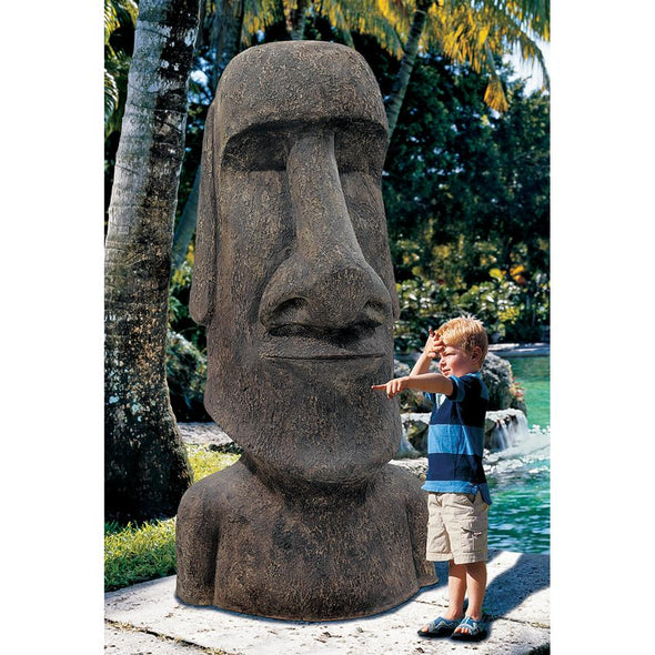 Giant Easter Island Head