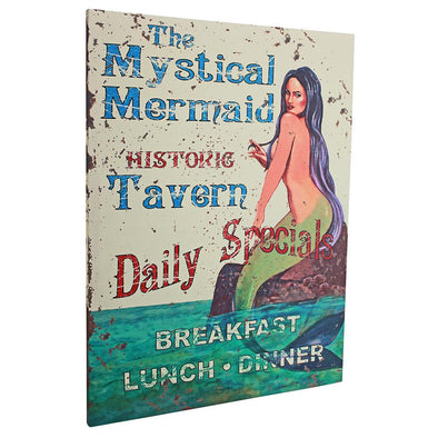 Mystical Mermaid Advertising Canvas
