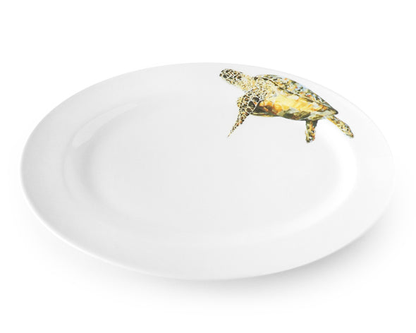 Doreens Sea Turtle Medium Oval Platter