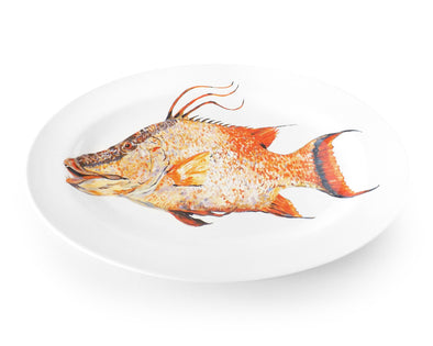 Mighty Hog Medium Oval Platter