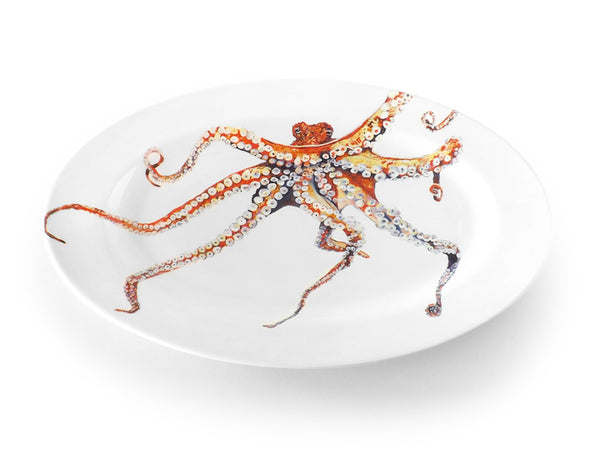 Octopus Medium Oval Platter