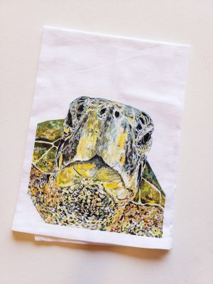 Sea Turtle Tea Towel