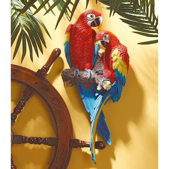 Tropical Scarlet Macaws
