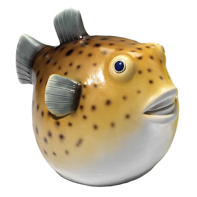 Portly Pufferfish Statue